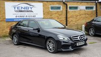 2014 MERCEDES-BENZ E CLASS 2.1 E220 CDI AMG SPORT 4d AUTO 168 BHP £11484.00