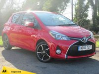 USED 2016 16 TOYOTA YARIS 1.3 VVT-I DESIGN 5d * FULL TOYOTA SERVICE HISTORY *128 POINT AA INSPECTED*