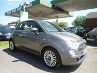2009 FIAT 500 1.2 LOUNGE 3d 69 BHP 5 SERVICE STAMPS £3495.00