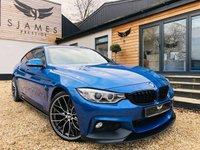 2016 BMW 4 SERIES 3.0 430D M SPORT GRAN COUPE 4d AUTO 255 BHP £20990.00