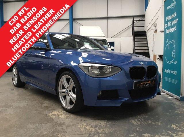2014 64 BMW 1 SERIES 2.0 120D M SPORT 5d 181 BHP