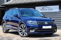 USED 2017 17 VOLKSWAGEN TIGUAN 2.0 R-LINE TDI BMT 4MOTION DSG 5d AUTO 188 BHP RESERVE ONLINE - UK DELIVERY