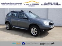 USED 2014 64 DACIA DUSTER 1.5 LAUREATE DCI 4WD 5d 109 BHP 4WD  TOUCH SCREEN SAT NAV