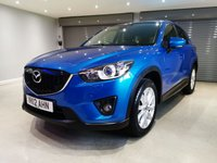 USED 2012 12 MAZDA CX-5 2.0 SPORT NAV 5d 163 BHP SATELLITE NAVIGATION + FULL LEATHER UPHOLSTERY + BOSE SOUND SYSTEM