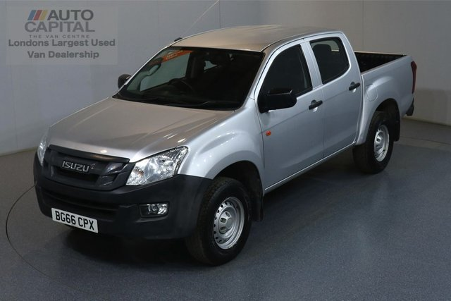 2016 66 ISUZU D-MAX 2.5 TD DCB 164 BHP AIR CON MOT UNTIL 12/07/2020