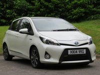 2014 TOYOTA YARIS 1.5 HYBRID TREND 5d AUTO 61 BHP £9390.00