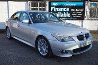 USED 2006 56 BMW 5 SERIES 3.0 530D M SPORT 4d AUTO 228 BHP 7 Service Stamps, 228BHP, Full M Sport Spec