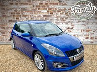 USED 2016 16 SUZUKI SWIFT 1.6 SPORT 3d 134 BHP **GREAT LITTLE HOT HATCH WITH FULL HISTORY**