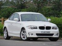 USED 2012 12 BMW 1 SERIES 2.0 118D SPORT 2d 141 BHP