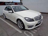 2012 MERCEDES-BENZ C CLASS 2.1 C220 CDI BLUEEFFICIENCY SPORT 4d AUTO 168 BHP £9675.00