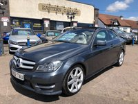 2012 MERCEDES-BENZ C CLASS 2.1 C250 CDI BLUEEFFICIENCY AMG SPORT 2d AUTO 204 BHP £9995.00