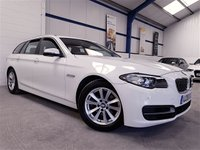 USED 2015 15 BMW 5 SERIES 2.0 520D SE TOURING 5d AUTO 188 BHP