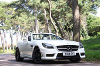 2014 MERCEDES-BENZ SLK 5.5 SLK55 AMG 2d AUTO 421 BHP £SOLD