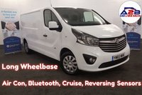2016 VAUXHALL VIVARO 1.6 2900 CDTI SPORTIVE 120 BHP Long Wheel Base, One Owner, 53,891 Miles, Air Con, Bluetooth Phone Connectivity, Rear Parking Sensors and more... £9480.00