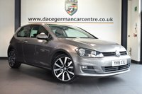 """USED 2016 16 VOLKSWAGEN GOLF 2.0 GT TDI 3DR 148 BHP excellent service history * NO ADMIN FEES * FINSIHED IN STUNNING GREY WITH CLOTH UPHOLSTERY + SATELLITE NAVIGATION + EXCELLENT SERVICE HISTORY + BLUETOOTH + DAB RADIO + CRUISE CONTROL + HEATED MIRRROS + AIR CON + PARKING SENSORS + 18"""" ALLOY WHEELS"""