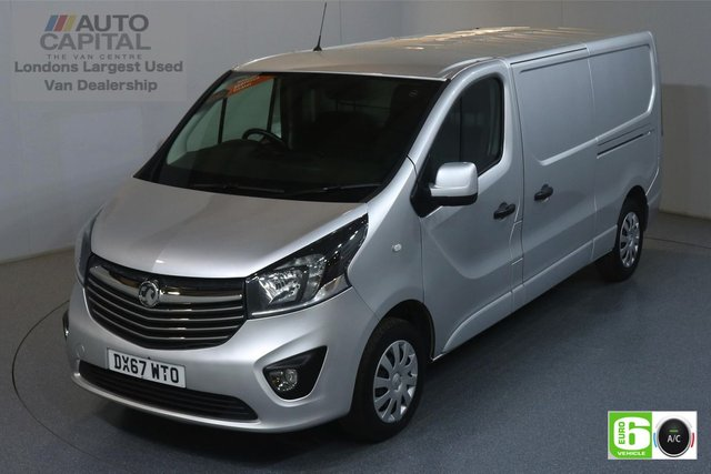 2017 67 VAUXHALL VIVARO 1.6 L2H1 2900 SPORTIVE CDTI 120 BHP EURO 6 ENGINE AIR CON, REAR PARKING SENSORS