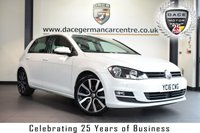 USED 2016 16 VOLKSWAGEN GOLF 2.0 GT TDI 5DR 148  BHP vw service history * NO ADMIN FEES * FINISHED IN STUNNING PURE WHITE WITH CLOTH UPHOLSTERY + SATELLITE NAVIGATION + VW SERVICE HISTORY + BLUETOOTH + DAB RADIO + CRUISE CONTROL + HEATED MIRRORS + USB/AUX PORT + AIR CON + PARKING SENSORS + ALLOY WHEELS
