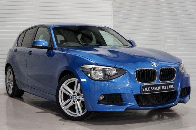 2012 62 BMW 1 SERIES 1.6 116I M SPORT 5dr 135 BHP
