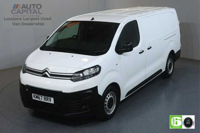 2018 67 CITROEN DISPATCH 1.6 XL 1200 ENTERPRISE BLUEHDI 94 BHP LWB EURO 6 ENGINE AIR CON, REAR PARKING SENSORS