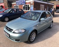 USED 2006 06 CHEVROLET LACETTI 1.6 SX 5d 108 BHP
