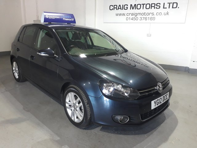 2012 12 VOLKSWAGEN GOLF 2.0L GT TDI BLUEMOTION TECHNOLOGY 5d 138 BHP
