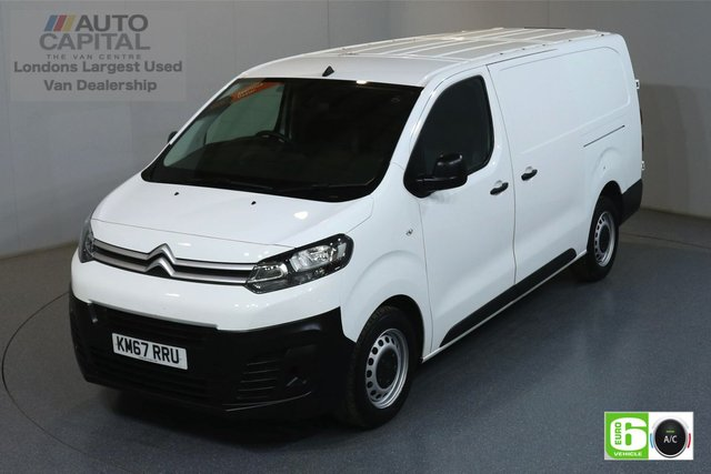 2018 67 CITROEN DISPATCH 1.6 XL 1200 ENTERPRISE BLUEHDI LWB 94 BHP EURO 6 ENGINE MANUFACTURER WARRANTY UNTIL 27/02/2021