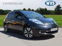 USED 2017 17 NISSAN LEAF 0.0 TEKNA 5d AUTO 109 BHP ZERO ROAD TAX AND NO LONDON CONGESTION CHARGES for this 2017 Nissan Leaf 30KWH TEKNA 5DR AUTO in black with just 12000 miles.