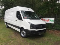 2015 VOLKSWAGEN CRAFTER 2.0 CR35 TDI LWB 109PS