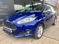 USED 2015 15 FORD FIESTA 1.2 ZETEC 5d 81 BHP Bluetooth, 12 month MOT included