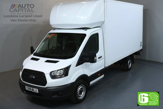 2018 18 FORD TRANSIT 2.0 350 L4 XLWB 129 BHP EURO 6 ENGINE LUTON MANUFACTURE WARRANTY UNTIL 14/03/2021