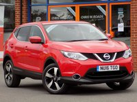 USED 2016 16 NISSAN QASHQAI 1.5 dCi N-Connecta 5dr ** Sat Nav + Heat Pack **