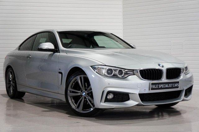 2014 14 BMW 4 SERIES 2.0 420D M SPORT AUTO (SAT NAV)