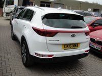 USED 2016 16 KIA SPORTAGE 1.7 CRDI 3 ISG 5d 114 BHP ANY PART EXCHANGE WELCOME, COUNTRY WIDE DELIVERY ARRANGED, HUGE SPEC