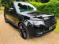 USED 2015 15 LAND ROVER RANGE ROVER 4.4 SDV8 VOGUE 5d AUTO 339 BHP BLACK