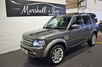 2015 LAND ROVER DISCOVERY 4 3.0 SDV6 HSE 5d AUTO 255 BHP £21500.00