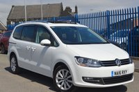 USED 2016 16 VOLKSWAGEN SHARAN 2.0 SEL TDI BLUEMOTION TECHNOLOGY DSG 5d AUTO 181 BHP EURO 6