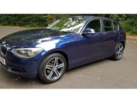 USED 2013 63 BMW 1 SERIES 2.0 118D SPORT 5d AUTO 141 BHP