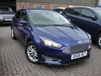USED 2016 66 FORD FOCUS 1.0 ZETEC 5d 124 BHP ANY PART EXCHANGE WELCOME, COUNTRY WIDE DELIVERY ARRANGED, HUGE SPEC
