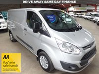 "USED 2017 67 FORD TRANSIT CUSTOM 2.0 290 TREND LR P/V L2 HI LWB VAN EURO6 ""YOU'RE IN SAFE HANDS"" - AA DEALER PROMISE"