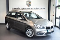 """USED 2016 65 BMW 2 Series GRAN TOURER 1.5 216D SE GRAN TOURER 5DR AUTO 114 BHP full service history + 7 seats * NO ADMIN FEES * FINISHED IN STUNNING PLATINUM METALLIC SILVER WITH ANTHRACITE UPHOLSTERY + FULL SERVICE HISTORY + SATELLITE NAVIGATION + BLUETOOTH + DAB RADIO + CRUISE CONTROL + LIGHT PACKAGE + LUMBAR SUPPORT + RAIN SENSORS + PARKING SENSORS + 16"""" ALLOY WHEELS"""