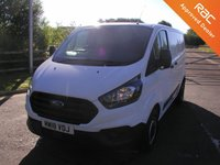 USED 2018 18 FORD TRANSIT CUSTOM 2.0 300 BASE L1 H1 1d 104 BHP Van  Only 25000 miles, Service History, 1 Owner