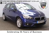 USED 2016 16 BMW 2 SERIES ACTIVE TOURER 1.5 218I SE ACTIVE TOURER 5DR AUTO SAT NAV 1 OWNER 134 BHP FULL SERVICE HISTORY + SATELLITE NAVIGATION + HEAD-UP DISPLAY + PARKING SENSOR + BLUETOOTH + PARK ASSIST + CRUISE CONTROL + CLIMATE CONTROL + MULTI FUNCTION WHEEL + DAB RADIO + ELECTRIC WINDOWS + RADIO/CD/AUX/USB + ELECTRIC MIRRORS + 16 INCH ALLOY WHEELS