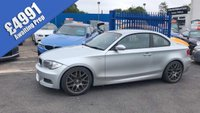 2008 BMW 1 SERIES 2.0 123D M SPORT 2d 204 BHP £4991.00
