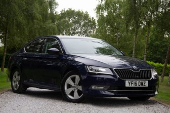2016 SKODA SUPERB 1.6 SE L EXECUTIVE TDI GREENLINE 5d 118 BHP £11500.00