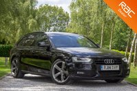 USED 2014 14 AUDI A4 2.0 AVANT TDI BLACK EDITION 5d 148 BHP £0 DEPOSIT BUY NOW PAY LATER - BANG & OLUFSEN SURROUND SOUND