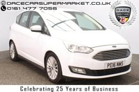 USED 2016 16 FORD C-MAX 1.0 TITANIUM 5DR SAT NAV 1 OWNER 124 BHP FULL SERVICE HISTORY + SATELLITE NAVIGATION + PARKING SENSOR + BLUETOOTH + CRUISE CONTROL + CLIMATE CONTROL + MULTI FUNCTION WHEEL + DAB RADIO + ELECTRIC WINDOWS + RADIO/CD/AUX/USB + ELECTRIC MIRRORS + 17 INCH ALLOY WHEELS