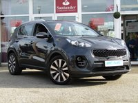 "USED 2016 16 KIA SPORTAGE 1.7 CRDI 3 ISG 5d 114 BHP STUNNING, Low Mileage, £30 ROAD TAX, KIA SPORTAGE 3 ISG 1.7 CRDI. Finished in DARK GUN METAL METALLIC with contrasting FULL HEATED LEATHER trim. This car comes with the balance of Kia 7 year warranty with FSH. The Kia Sportage is one of the best MPV's on the market today, It offers striking looks and makes an ideal family SUV with great specification. Features include Sat Nav, DAB, Power folding Mirrors, 19"" Alloys, Heated Leather Seats, Blue Tooth and much more."