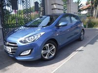 USED 2016 16 HYUNDAI I30 1.6 CRDI SE BLUE DRIVE 5d AUTO 109 BHP *** FINANCE & PART EXCHANGE WELCOME *** 1 OWNER £ 20 ROAD TAX BLUETOOTH PHONE PARKING SENSORS AIR/CON CRUISE CONTROL