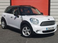 2012 MINI COUNTRYMAN 1.6 COOPER 5d 122 BHP [PAN SUN ROOF]
