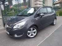 USED 2014 64 VAUXHALL MERIVA 1.6 TECH LINE CDTI ECOFLEX S/S 5d 134 BHP ****FINANCE ARRANGED****PART EXCHANGE WELCOME***2KEYS*CRUISE*PART LEATHER*BTOOTH*AUX*HEATED SEATS & WHEEL
